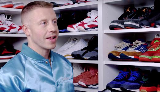 Macklemore sneakers