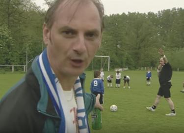 Martin van Waardenberg voetbalvader