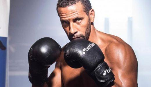 Rio Ferdinand boksen