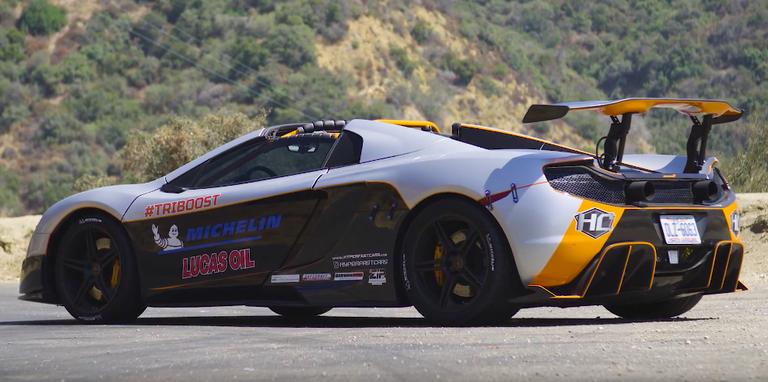 McLaren met 1200 pk