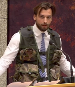Thierry Baudet legeroutfit