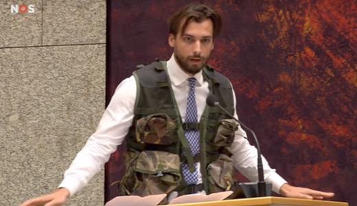 Thierry Baudet legeroutfit