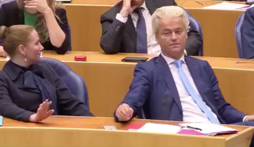 Geert Wilders dist Mark Rutte