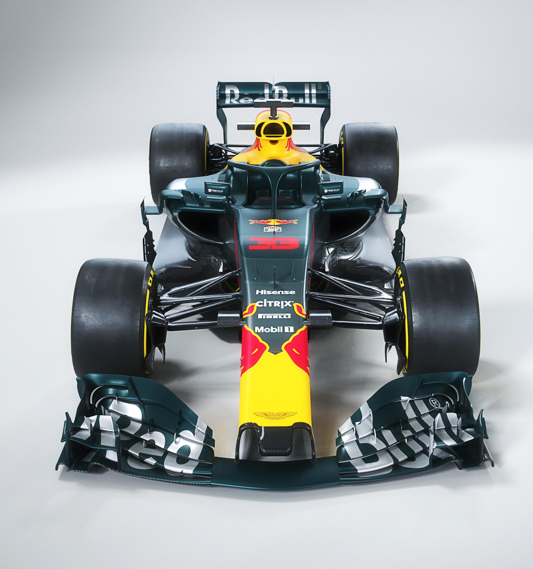 Concept Van De Nieuwe Bolide Van Red Bull Racing Is Gruwelijk Fhm