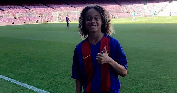 De 14-jarige Xavi Simons biedt hoop voor de toekomst van ...