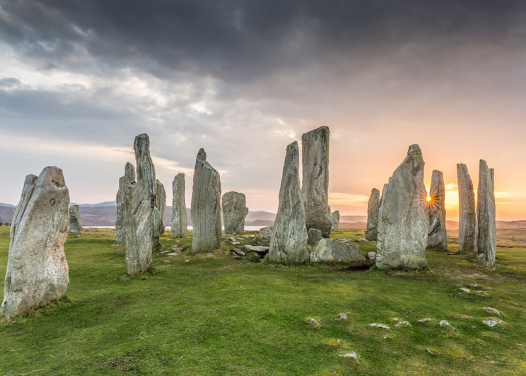 Callandish Stones in de Outer Hebrides, Schotland