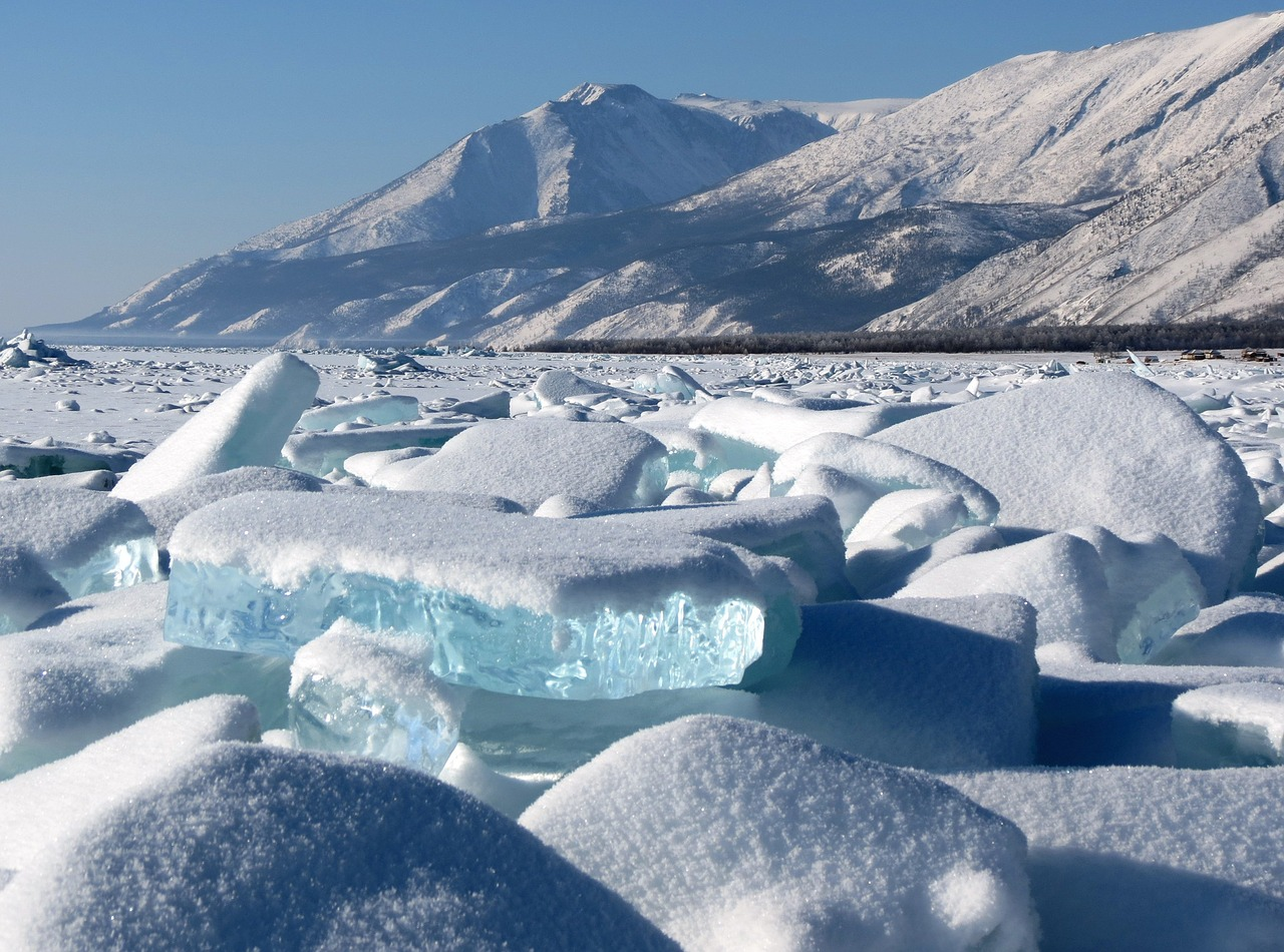 Lake Baikal, Rusland