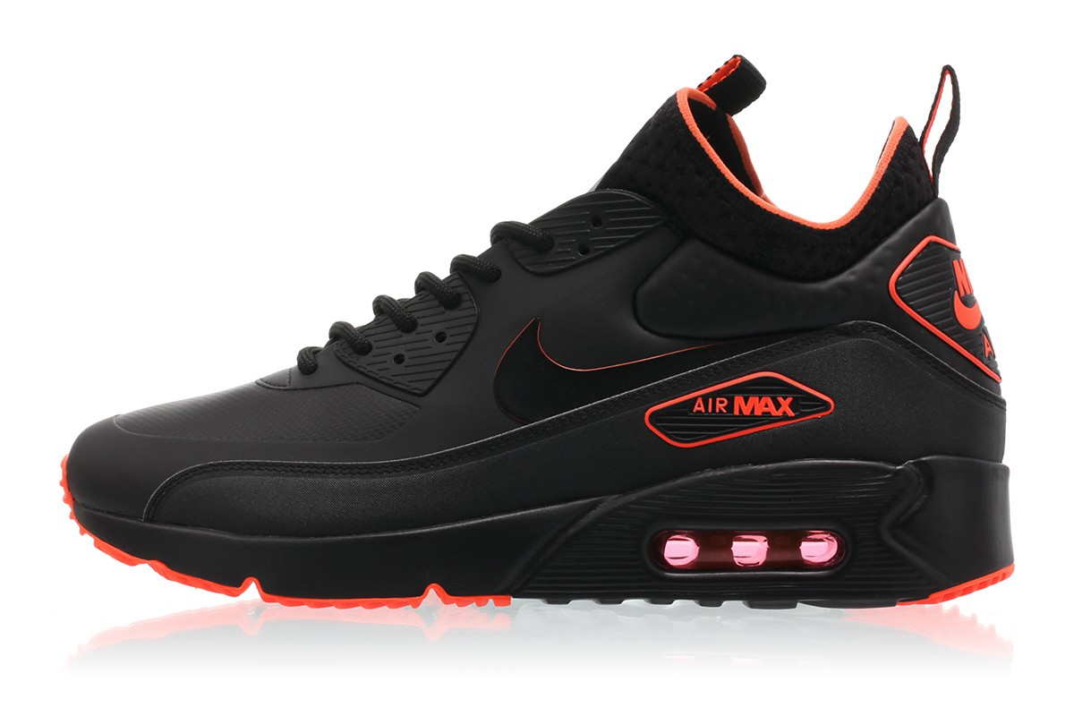 Air Max 90 Ultra Mid Winter 'Black Crimson'