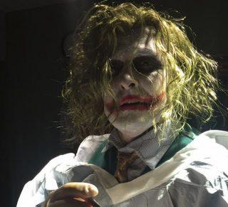 The Joker bevalling