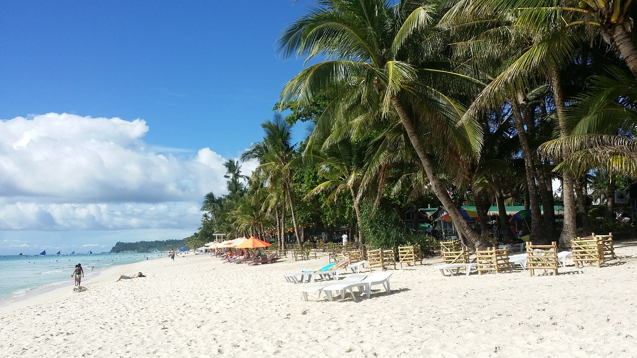 Travel Republic Of The Philippines Beach Boracay