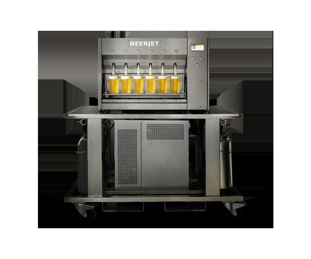 Beerjet beerdispenser