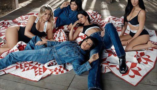 Kardashian zussen fotoshoot Calvin Klein
