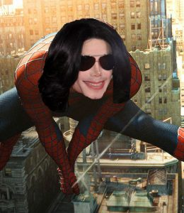 Michael Jackson Spider-Man