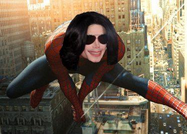 Michael Jackson Spider-Man