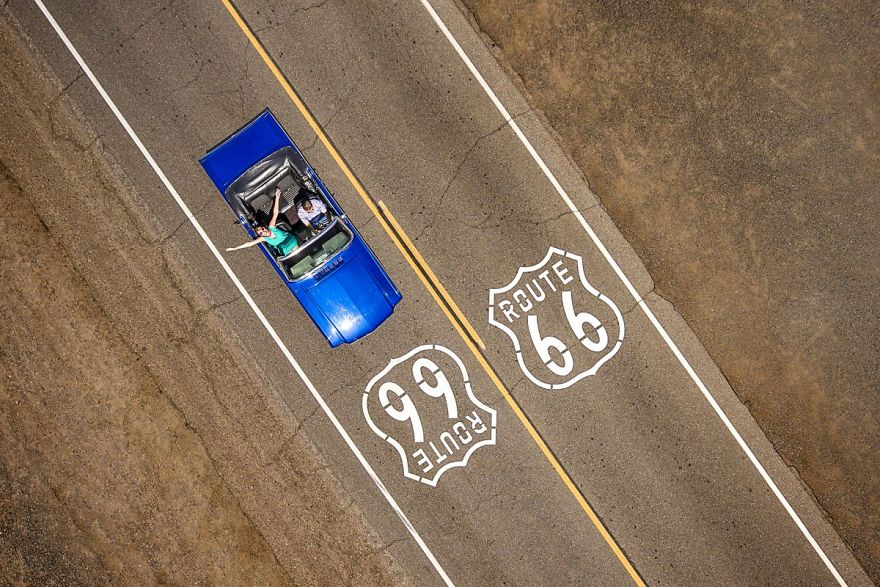 Route 66. Foto: Raf Willems