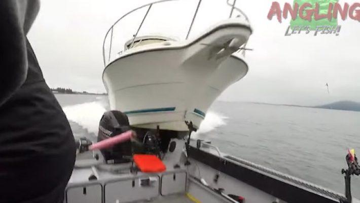 Vissersboot crash
