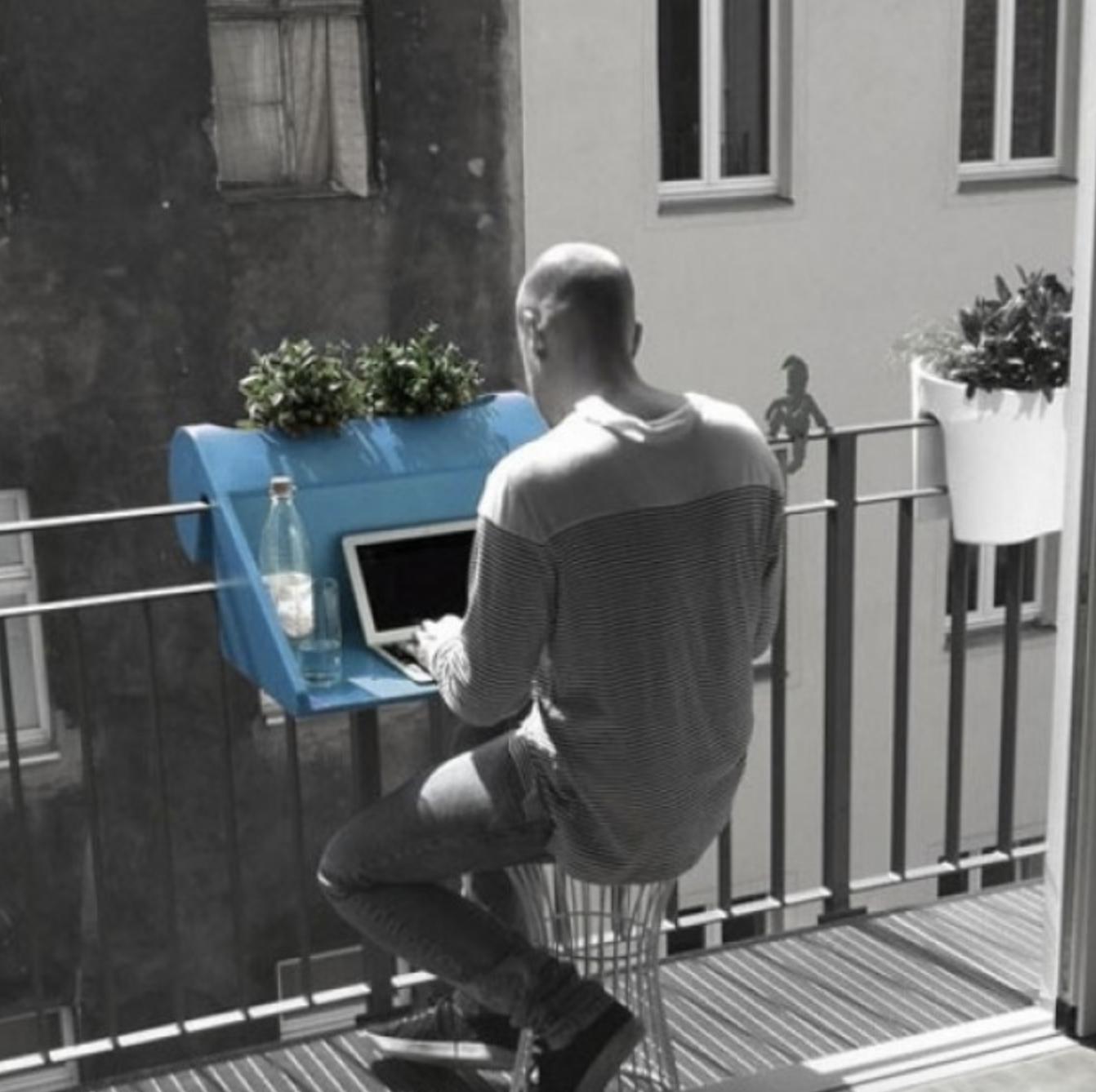 Bureau balkon