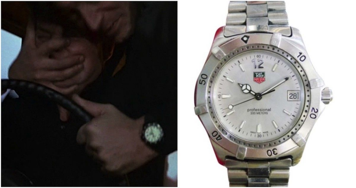James Bond Tag Heuer
