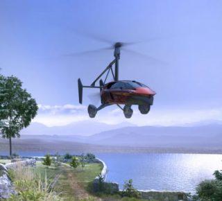 vliegende auto