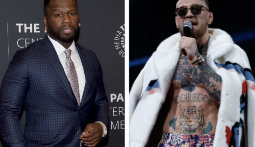 50cent en Conor McGregor