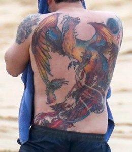 Ben Affleck tattoo