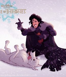 Game of Thrones door Disney