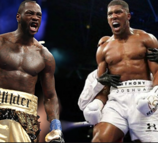 Deontay Wilder Anthony Joshua