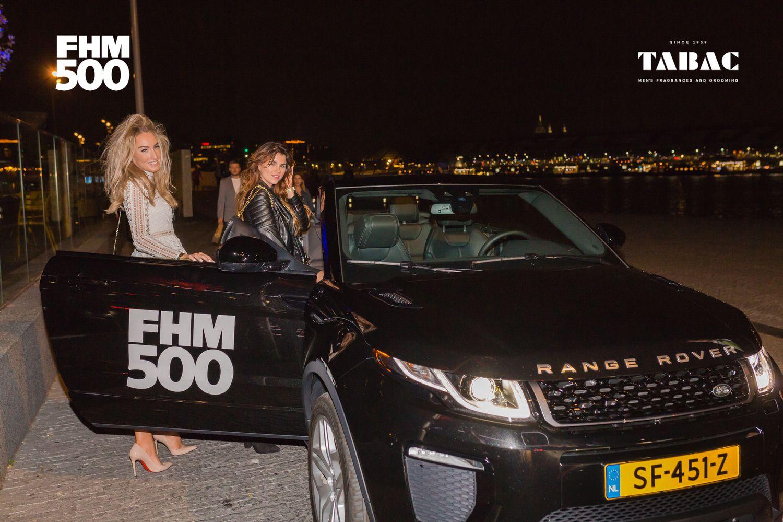 Range Rover bracht de mensen naar afterparty Mad Fox.
