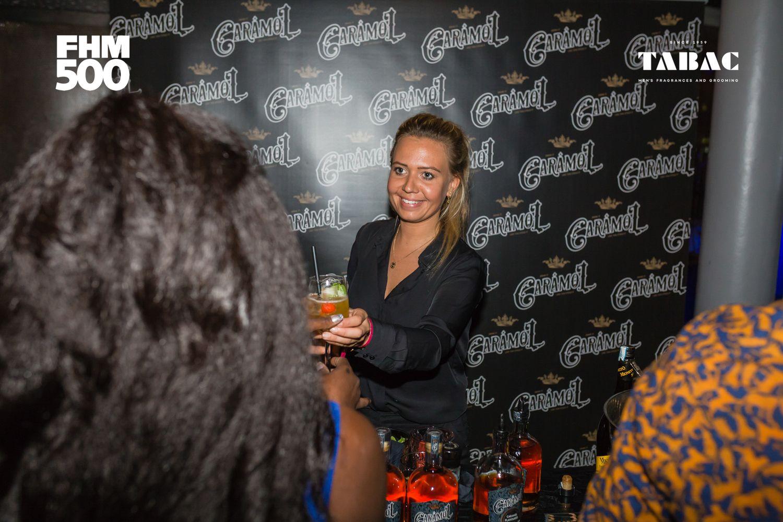 Cocktails van Caramol waren uiterst populair.