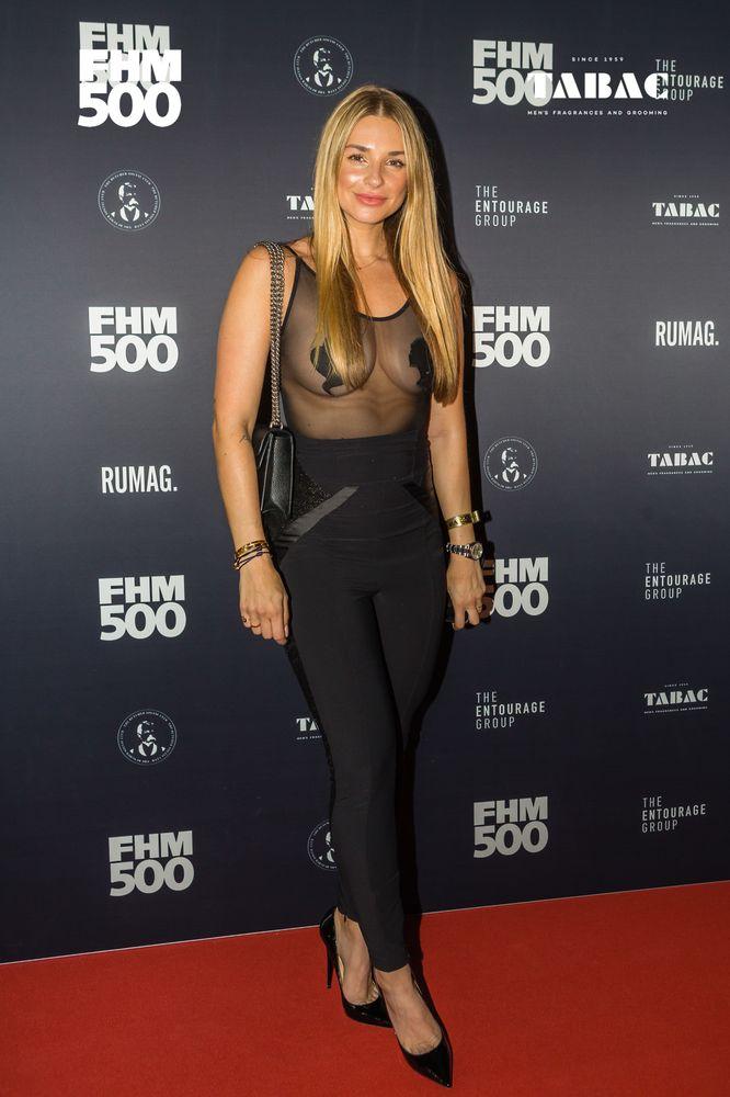 Outfit van de avond: Gaby Blaaser.
