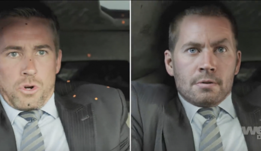 Paul Walker in CGI