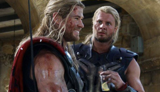 Stuntdubbels Marvel karakters