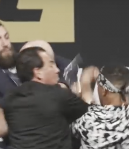 UFC buiten de ring gevechten