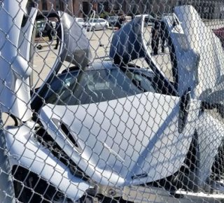 McLaren crash