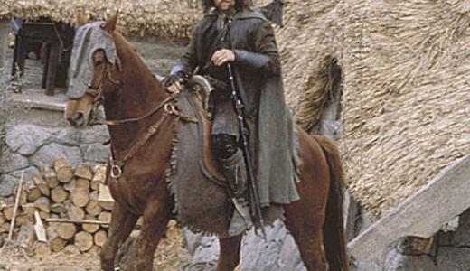 Viggo Mortensen paard
