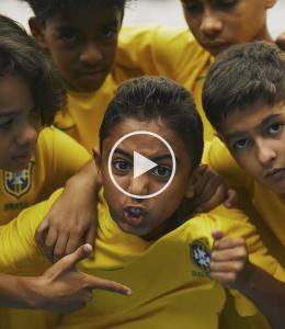 Nike commercial Brazilië