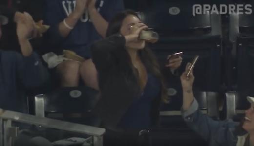 Honkbal bier vangen