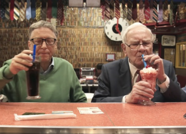 Bill Gates en Warren Buffet