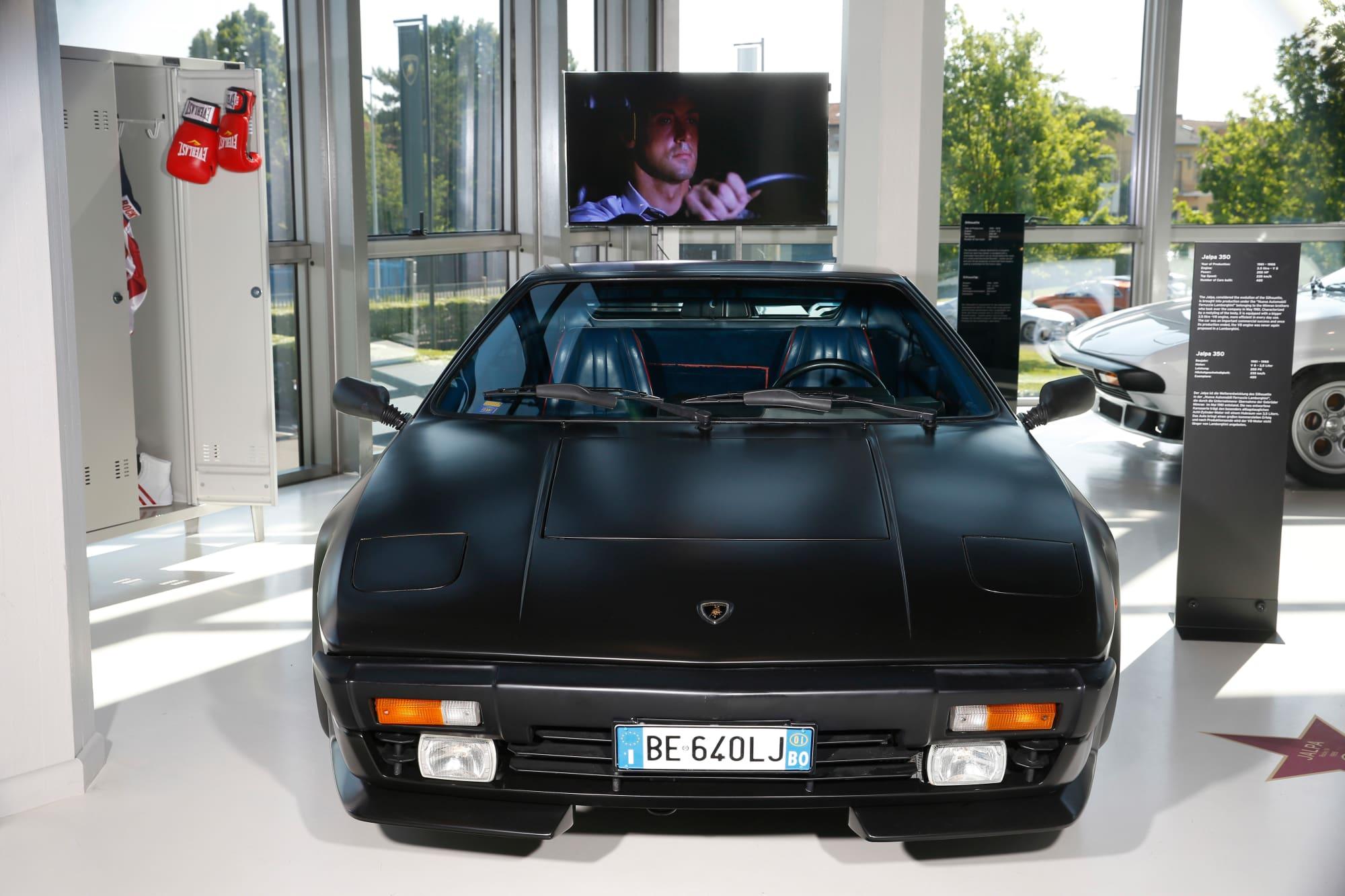 Lamborghini Jalpa uit Rocky IV