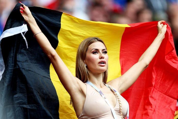 knapste vrouwen van het WK