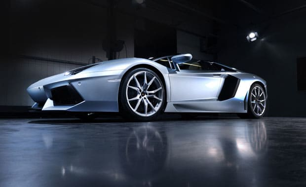Lamborghini Aventador uit The Dark Knight Rises