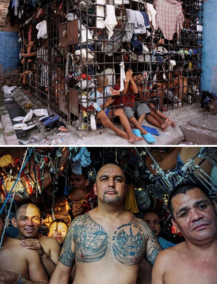 Penal De Ciudad Barrios, Ciudad Barrios, San Miguel, El Salvador. Foto: Giles Clarke