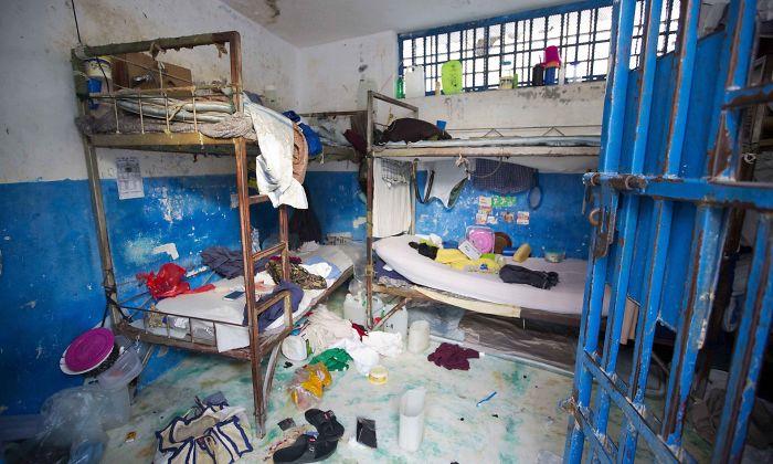 Haiti's Civil Prison, Arcahaie, Haiti. Foto: Dieu Nalio Chery , Telegraph