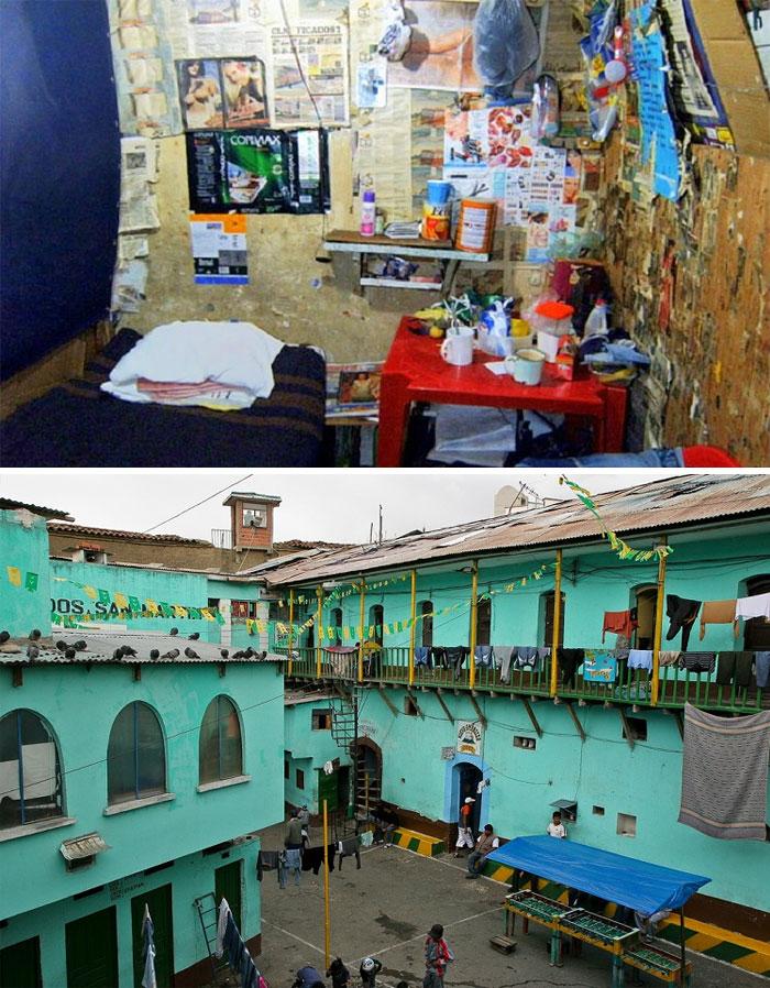 San Pedro Prison, La Paz, Bolivia. Foto: Lapazlife , Daily Mail.