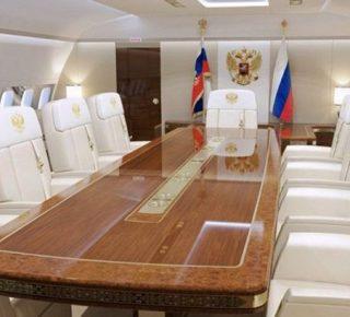 Privévliegtuig Poetin