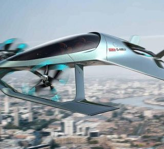 Zelf vliegende Jet 01