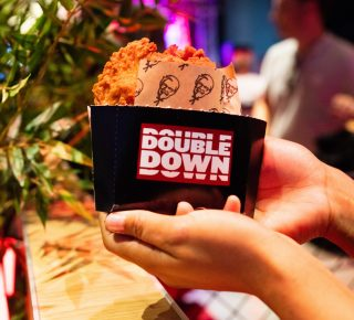 Double down burger KFC