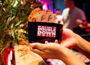Double down burger KFC