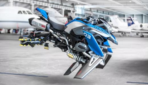 BMW vliegende motor