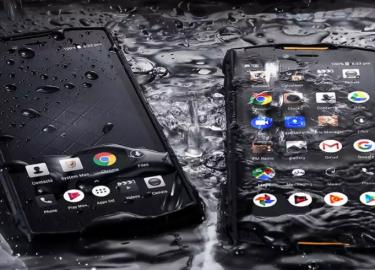 Gepantserde smartphone